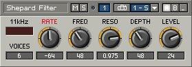Shepard Filter - panel