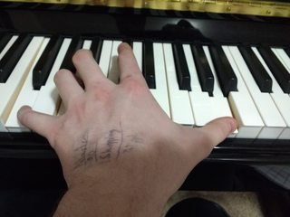 left hand picture