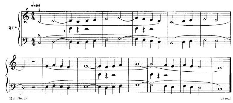 Bartok - Mikrokosmos Book 1 - 9<