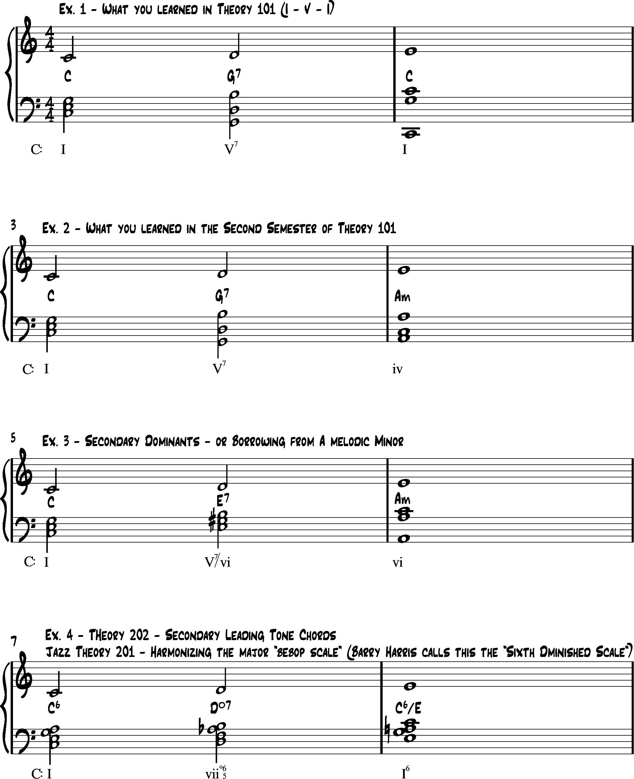 """Simpler"" options for harmonization"