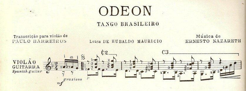 Odeon. Tango Brasileiro